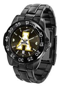 Appalachian State Mountaineers Fantom Sport Watch, Anochrome Dial, Black