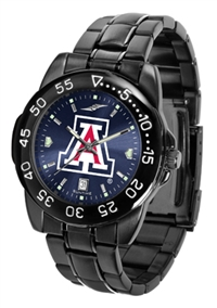 Arizona Wildcats Fantom Sport Watch, Anochrome Dial, Black