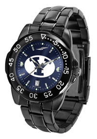 Brigham Young Cougars Fantom Sport Watch, Anochrome Dial, Black