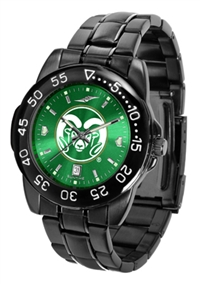 Colorado State Rams Fantom Sport Watch, Anochrome Dial, Black