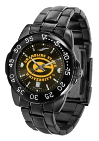 Grambling State Tigers Fantom Sport Watch, Anochrome Dial, Black