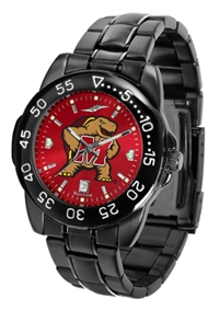Maryland Terrapins Fantom Sport Watch, Anochrome Dial, Black