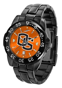 Oregon State Beavers Fantom Sport Watch, Anochrome Dial, Black