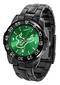 South Florida Bulls Fantom Sport Watch, Anochrome Dial, Black