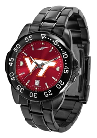 Virginia Tech Hokies Fantom Sport Watch, Anochrome Dial, Black