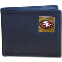 NFL Bifold Wallet in a Tin - San Francisco 49ers