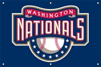 Washington Nationals MLB 3' x 2' Fan Banner