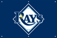 Tampa Bay Rays MLB 3' x 2' Fan Banner