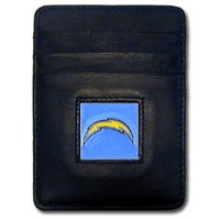 San Diego Chargers Executive NFL Money Clip/Card Holder