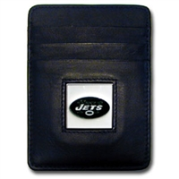 New York Jets Executive NFL Money Clip/Card Holder