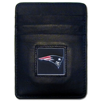 New England Patriots Executive NFL Money Clip/Card Holder