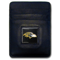 Baltimore Ravens Executive NFL Money Clip/Card Holder