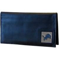 Detroit Lions Deluxe NFL Checkbook in a Tin