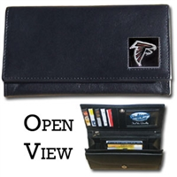 Atlanta Falcons Women's NFL Leather Wallet