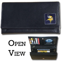 Minnesota Vikings Women's NFL Leather Wallet