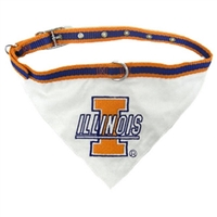 Illinois Fighting Illini Bandana - Small