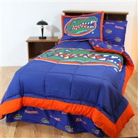 Florida (UF) Gators Bed in a Bag Full - With Team Colored Sheets