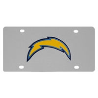 NFL Logo License Plate - San Diego Chargers