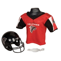 Atlanta Falcons Youth NFL Helmet and Jersey Set
