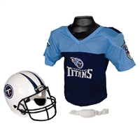 Tennessee Titans Youth NFL Helmet and Jersey Set