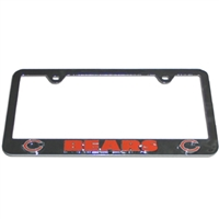 Chicago Bears 3D License Plate Tag Frame