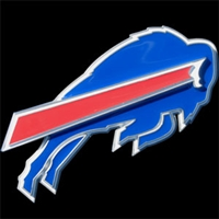 Buffalo Bills NFL Hitch Cover - Logo Only