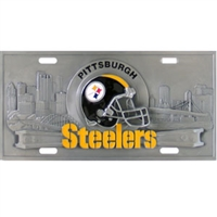 Pittsburgh Steelers 3D NFL License Plate