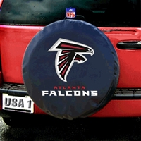 Atlanta Falcons NFL Spare Tire Cover (Black)