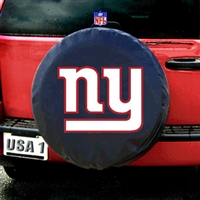 New York Giants NFL Spare Tire Cover (Black)