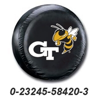 Georgia Tech Yellowjackets NCAA Spare Tire Cover (Black)
