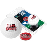 Arkansas State Red Wolves Golf Ball w/ Ball Marker