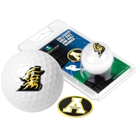 Appalachian State Mountaineers Golf Ball w/ Ball Marker