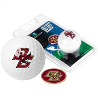Boston College Eagles Golf Ball w/ Ball Marker