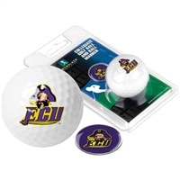 East Carolina Pirates Golf Ball w/ Ball Marker