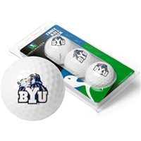 Brigham Young BYU Cougars 3 Golf Ball Sleeve Pack