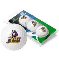 East Carolina Pirates 3 Golf Ball Sleeve Pack