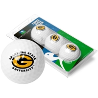 Grambling State Tigers 3 Golf Ball Sleeve Pack