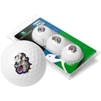 James Madison Dukes 3 Golf Ball Sleeve Pack