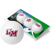 Massachusetts Minutemen 3 Golf Ball Sleeve Pack