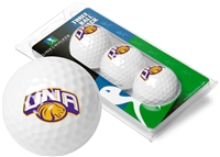 North Alabama Lions UNA 3 Golf Ball Sleeve Pack