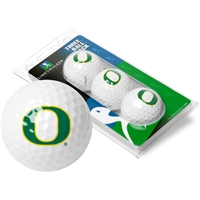 Oregon Ducks 3 Golf Ball Sleeve Pack