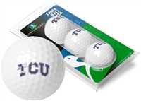 Texas Christian Horned Frogs 3 Golf Ball Sleeve Pack