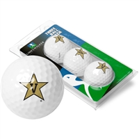 Vanderbilt Commodores 3 Golf Ball Sleeve Pack