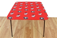 Georgia (UGA) Bulldogs Card Table Cover