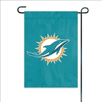 Miami Dolphins NFL Garden Mini Window Flag