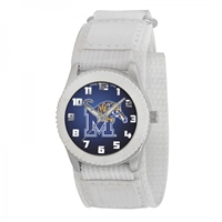 Memphis Tigers NCAA Kids Rookie Series Watch (White)