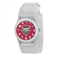 New Mexico Lobos NCAA Kids Rookie Series Watch (White)