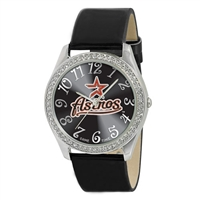Houston Astros MLB Ladies Glitz Series Watch