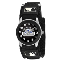 Colorado Rockies MLB Kids Rookie Series watch (Black)