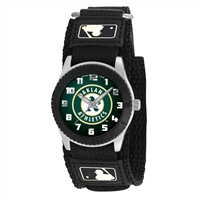 Oakland Athletics MLB Kids Rookie Series watch (Black)